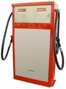 Elektroninen kahden laadun polttoaineen jakelumittari